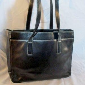 COACH 5209 HAMPTON Leather Tote Laptop Case Bag